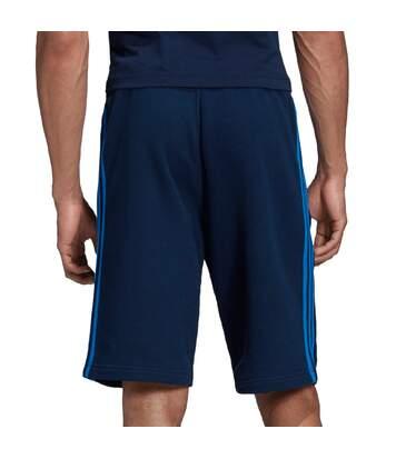 Short Bleu Homme Adidas 3 stripe