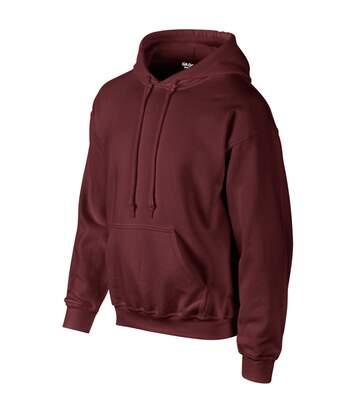 Gildan Heavyweight DryBlend Adult Unisex Hooded Sweatshirt Top / Hoodie (13 Colours) (Maroon) - UTBC461