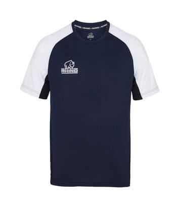 Rhino Mens Mace II Short Sleeve T-Shirt (Navy) - UTRW4555