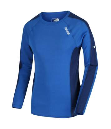 Regatta Great Outdoors Mens Beru Base Layer Shirt (Oxford/Prussian Blue) - UTRG2861