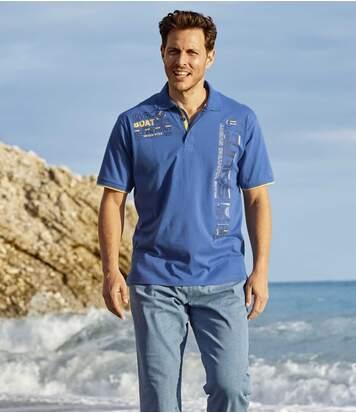 Poloshirt Sailing