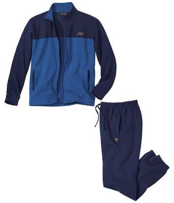 Jogging-Anzug Winter Challenge aus Molton