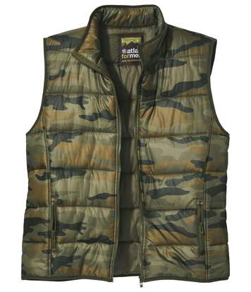 Camouflage bodywarmer Forest Camp