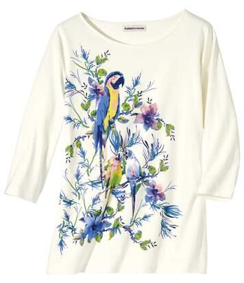 Tee-Shirt imprimé Perroquet