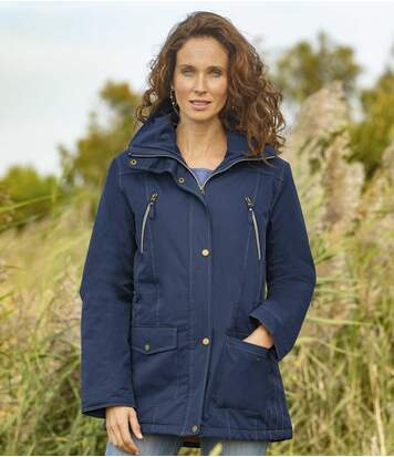 Women's Microtech Multi-Pocket Parka - Water-Repellent