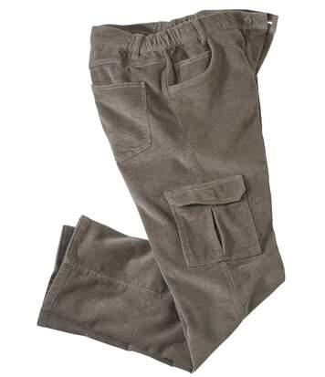 Manšestrové kalhoty Battle