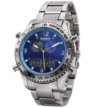 Men's Dual Display Watch