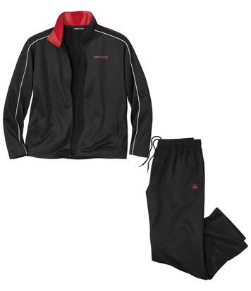 Men's Black Outdoor Tracksuit