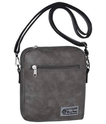 Men's Grey Holster Bag - Wild Park