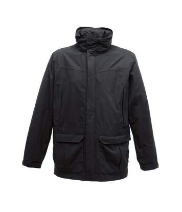 Regatta Mens Vertex III Waterproof Breathable Jacket (Black) - UTBC3030