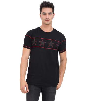 HITE COUTURE T-shirt col rond manches courtes  Homme