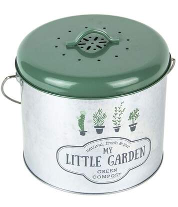 Poubelle de cuisine à compost My Little Markett 5L