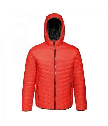 Regatta Mens Acadia II Hooded Jacket (Luminous Red/Jet Black) - UTRG3745