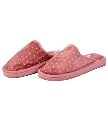 Pantoufles FANTAISIES pour Femme Confort MNXL12 Rose