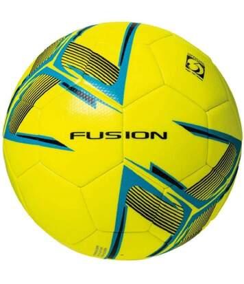 Precision - Ballon De Foot D'entraînement Fusion (Jaune fluo / Bleu / Noir) - UTRD794