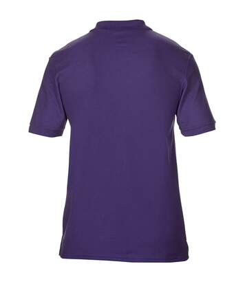 Gildan Mens DryBlend Adult Sport Double Pique Polo Shirt (Maroon) - UTBC3191