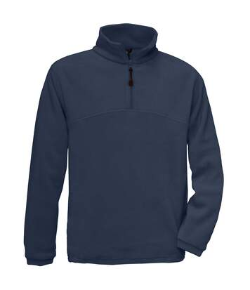 B&C Mens Highlander+ 1/4 Zip Fleece Top (Charcoal) - UTRW3031