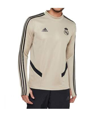 Real Madrid Sweat or brut homme Adidas