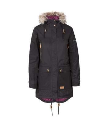 Trespass Womens/Ladies Clea Waterproof Parka Padded Jacket (Black) - UTTP4500