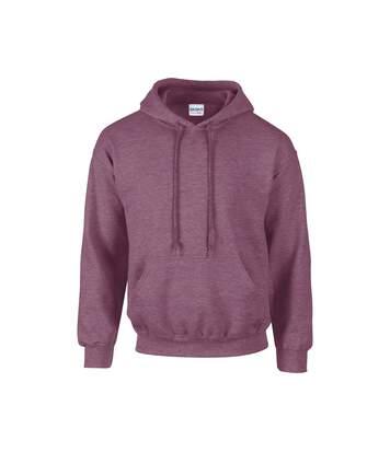 Gildan Heavy Blend Adult Unisex Hooded Sweatshirt / Hoodie (Orchid) - UTBC468