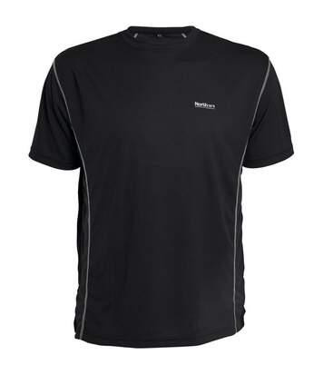 T-shirt manches courtes technique aero noir