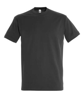 Sols - T-Shirt Manches Courtes Imperial - Homme (Anthracite) - UTPC290