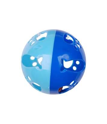 Jouet pour chat - Balle sonore - Bleu