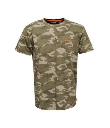 Regatta Mens Dense Marl T-Shirt (Rock Grey) - UTRG4242