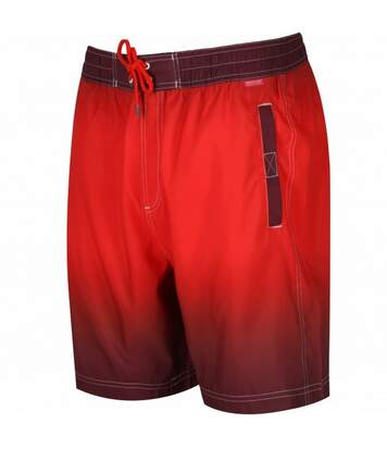 Regatta Great Outdoors Mens Hadden Board Shorts (Warm Mahogany/Amber) - UTRG2734
