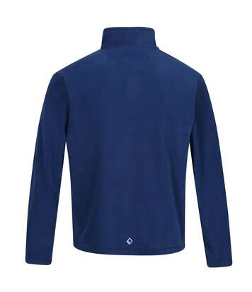 Regatta Mens Thompson Half Zip Fleece Top (Prussian Blue/Navy) - UTRG5292