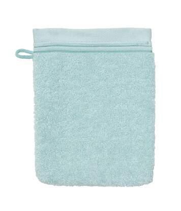 Gant de toilette 16x21 cm JULIET Bleu pâle 520 g/m2
