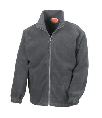 Result Mens Full Zip Active Fleece Anti Pilling Jacket (Oxford Grey) - UTBC922