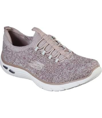 Skechers - Tennis Dlux - Femme (Fuchsia) - UTFS7004