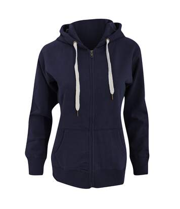 Mantis Womens/Ladies Superstar Zip Hooded Sweatshirt / Hoodie (Heather Grey Melange) - UTBC2691