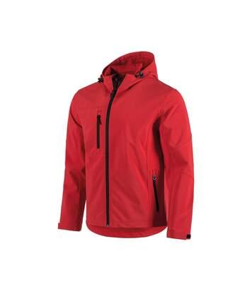 Stedman Mens Active Softest Shell Hooded Jacket (White) - UTAB308