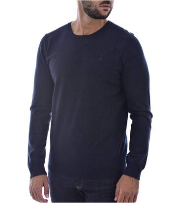 Pull doux uni  -  Homme - Teddy smith