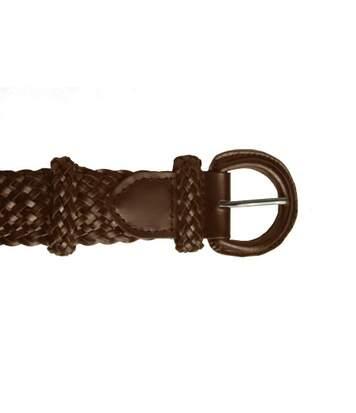 Eastern Counties Leather Womens/Ladies Plaited Belt (Tan) - UTEL246