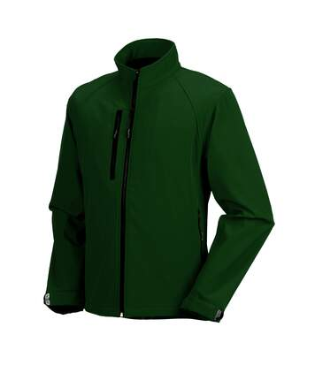 Russell Mens Water Resistant & Windproof Softshell Jacket (Black) - UTBC562