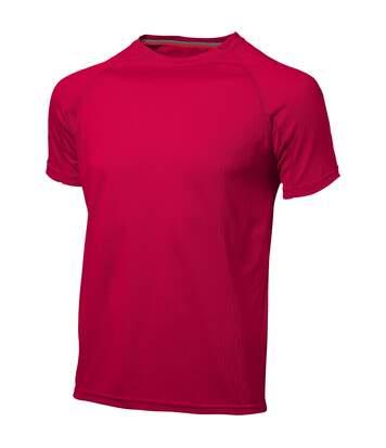 Slazenger Serve - T-Shirt À Manches Courtes - Homme (Rouge) - UTPF1730