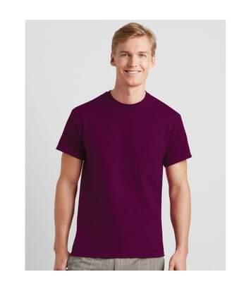Jerzees Colours Mens Classic Short Sleeve T-Shirt (Burgundy) - UTBC577