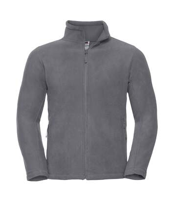 Russell Mens Full Zip Outdoor Fleece Jacket (Convoy Grey) - UTBC575