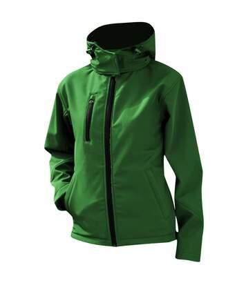 Result Core Womens/Ladies Lite Hooded Softshell Jacket (Navy/Royal) - UTBC3252