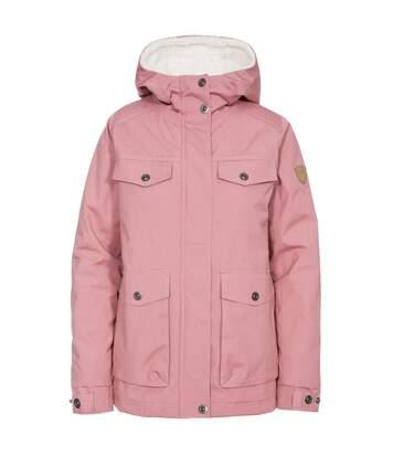 Trespass Womens/Ladies Devoted Waterproof Jacket (Dusty Rose) - UTTP4817