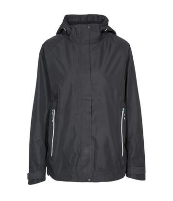 Trespass Womens/Ladies Review Waterproof Jacket (Black) - UTTP4617