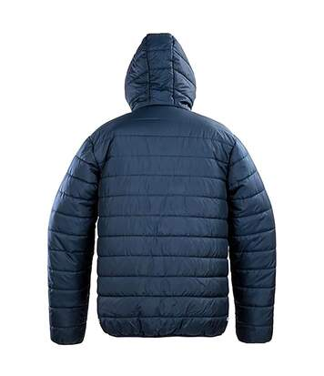 Result Core Mens Soft Padded Jacket (Frost Grey/Black) - UTRW5947