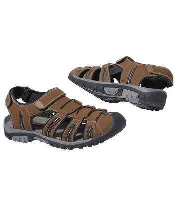 Men's Brown All-Terrain Summer Sandals