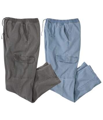 Zestaw 2 par jeansów