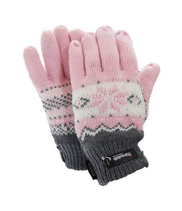 Floso - Gants Thermiques Thinsulate (3M 40G) - Femme (Rose) - UTGL519