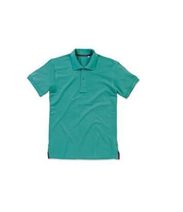 Stedman Mens Henry Cotton Polo (Bahama Green) - UTAB359
