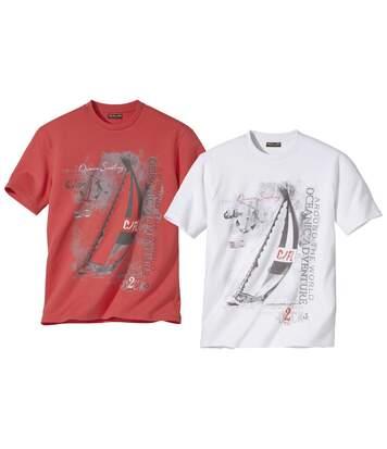 Zestaw 2 t-shirtów z dżerseju Adventure